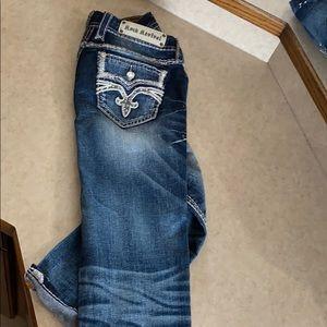 Rock revival jeans size 28